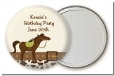 Horse - Personalized Birthday Party Pocket Mirror Favors