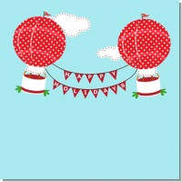 Hot Air Balloons Christmas Theme