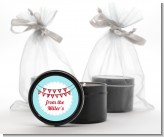 Hot Air Balloons - Christmas Black Candle Tin Favors