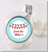 Hot Air Balloons - Personalized Christmas Candy Jar