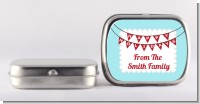 Hot Air Balloons - Personalized Christmas Mint Tins