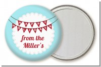Hot Air Balloons - Personalized Christmas Pocket Mirror Favors