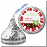 Hot Cocoa Party - Hershey Kiss Christmas Sticker Labels