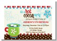 Hot Cocoa Party - Christmas Petite Invitations thumbnail