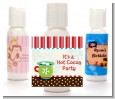 Hot Cocoa Party - Personalized Christmas Lotion Favors thumbnail