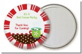 Hot Cocoa Party - Personalized Christmas Pocket Mirror Favors