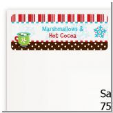 Hot Cocoa Party - Christmas Return Address Labels