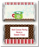Hot Cocoa Party - Personalized Christmas Mini Candy Bar Wrappers