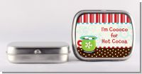 Hot Cocoa Party - Personalized Christmas Mint Tins