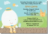 Humpty Dumpty - Baby Shower Invitations