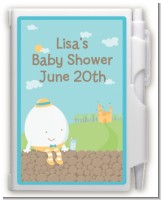 Humpty Dumpty - Baby Shower Personalized Notebook Favor
