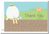 Humpty Dumpty - Baby Shower Thank You Cards