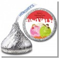 Ice Cream - Hershey Kiss Birthday Party Sticker Labels thumbnail