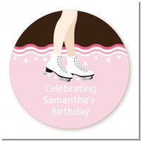 Ice Skating - Personalized Birthday Party Table Confetti
