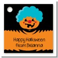 Jack O Lantern Clown - Personalized Halloween Card Stock Favor Tags thumbnail