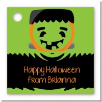 Jack O Lantern Frankenstein - Personalized Halloween Card Stock Favor Tags