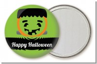 Jack O Lantern Frankenstein - Personalized Halloween Pocket Mirror Favors
