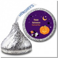 Jack O Lantern - Hershey Kiss Halloween Sticker Labels