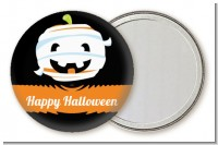 Jack O Lantern Mummy - Personalized Halloween Pocket Mirror Favors