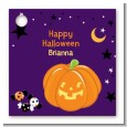 Jack O Lantern - Personalized Halloween Card Stock Favor Tags thumbnail