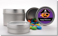 Jack O Lantern Pirate - Custom Halloween Favor Tins