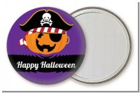 Jack O Lantern Pirate - Personalized Halloween Pocket Mirror Favors