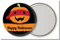 Jack O Lantern Superhero - Personalized Halloween Pocket Mirror Favors