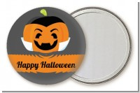 Jack O Lantern Vampire - Personalized Halloween Pocket Mirror Favors