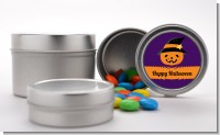 Jack O Lantern Witch - Custom Halloween Favor Tins