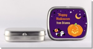 Jack O Lantern - Personalized Halloween Mint Tins