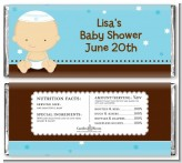 Jewish Baby Boy - Personalized Baby Shower Candy Bar Wrappers