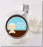 Jewish Baby Boy - Personalized Baby Shower Candy Jar