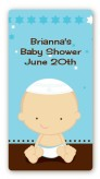 Jewish Baby Boy - Custom Rectangle Baby Shower Sticker/Labels