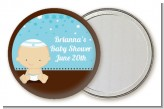Jewish Baby Boy - Personalized Baby Shower Pocket Mirror Favors
