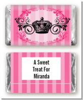 Juicy Couture Inspired - Personalized Birthday Party Mini Candy Bar Wrappers