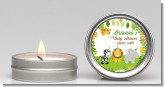 Jungle Party - Baby Shower Candle Favors