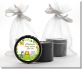 Jungle Party - Baby Shower Black Candle Tin Favors