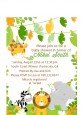Jungle Party - Baby Shower Petite Invitations thumbnail