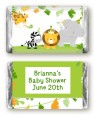 Jungle Party - Personalized Baby Shower Mini Candy Bar Wrappers thumbnail