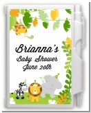 Jungle Party - Baby Shower Personalized Notebook Favor