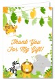 Jungle Party - Baby Shower Thank You Cards thumbnail