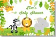 Jungle Party - Personalized Baby Shower Placemats thumbnail