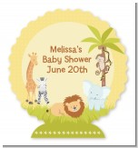 Jungle Safari Party - Personalized Baby Shower Centerpiece Stand