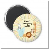 Jungle Safari Party - Personalized Baby Shower Magnet Favors
