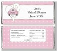 Just Married - Personalized Bridal Shower Candy Bar Wrappers thumbnail