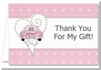 Just Married - Bridal Shower Thank You Cards