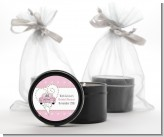 Just Married - Bridal Shower Black Candle Tin Favors