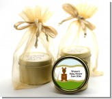 Kangaroo - Baby Shower Gold Tin Candle Favors