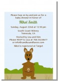 Kangaroo - Baby Shower Petite Invitations