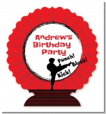 Karate Kid - Personalized Birthday Party Centerpiece Stand